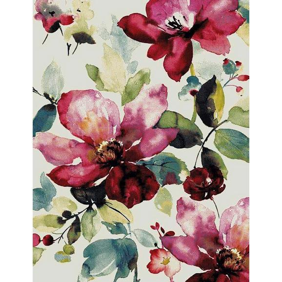 Webteppich Flower ca. 120x170cm - Multicolor, ROMANTIK / LANDHAUS, Textil (120/170cm) - Mömax modern living