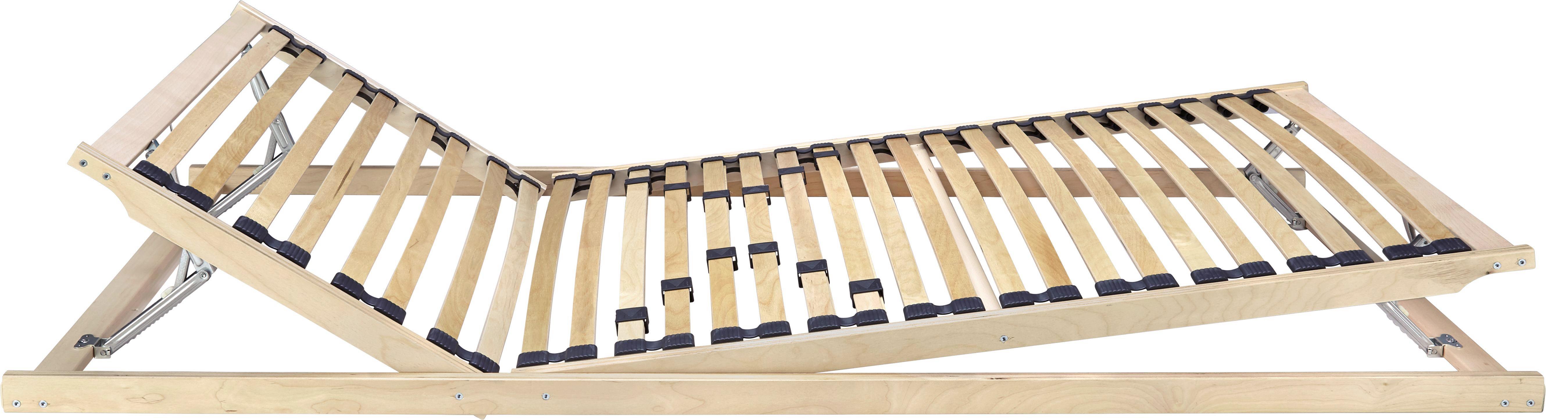 Lattenrost verstellbar, ca. 80x200cm - (80/200cm) - NADANA