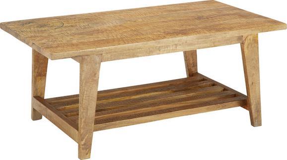 Couchtisch Holz - Naturfarben, LIFESTYLE, Holz (110/45/60cm) - Zandiara