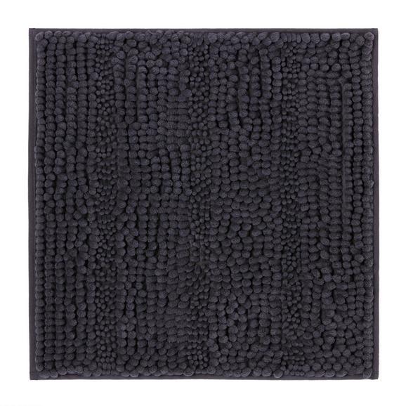 Badematte Uwe, ca. 50x50cm - Anthrazit, Textil (50/50cm) - MÖMAX modern living