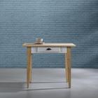 Küchentisch Nicolo 100x71cm - Braun/Weiß, MODERN, Holz (100/71/78,5cm) - Mömax modern living