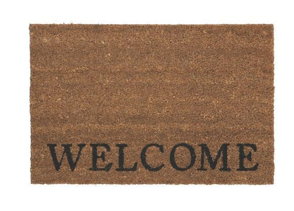 Predpražnik Welcome - naravna, umetna masa/tekstil (40/60cm) - Mömax modern living