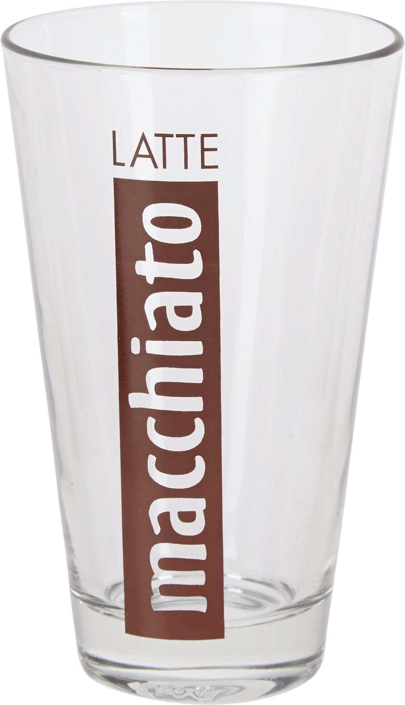 Kávés Bögre Rafal - tiszta/multicolor, üveg - MÖMAX modern living