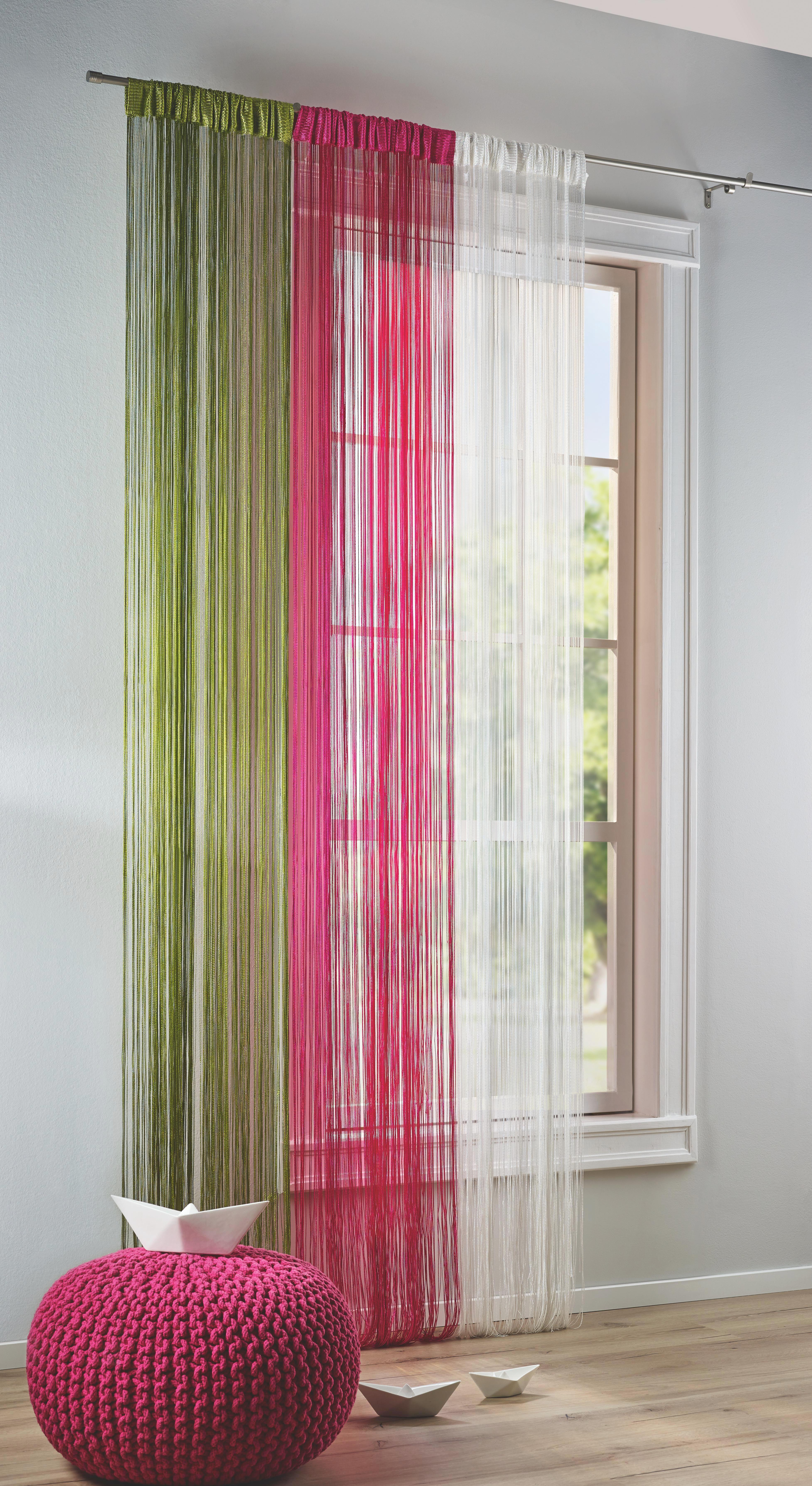 Fadenstore Franz in Pink, ca. 90x245cm - Pink, Textil (90/245cm) - MÖMAX modern living