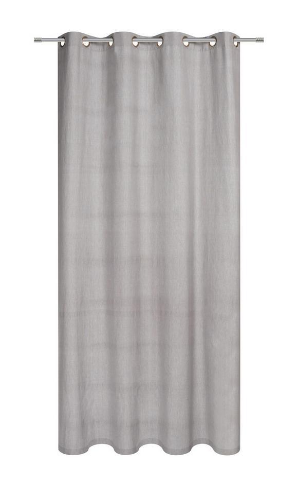 Ösenvorhang Noah, ca. 140x250cm - Taupe, ROMANTIK / LANDHAUS, Textil (140/250cm) - MÖMAX modern living