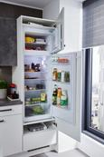 Küchenblock Flasch/Colorconcept Grau/Weiß - Weiß/Grau (290cm)