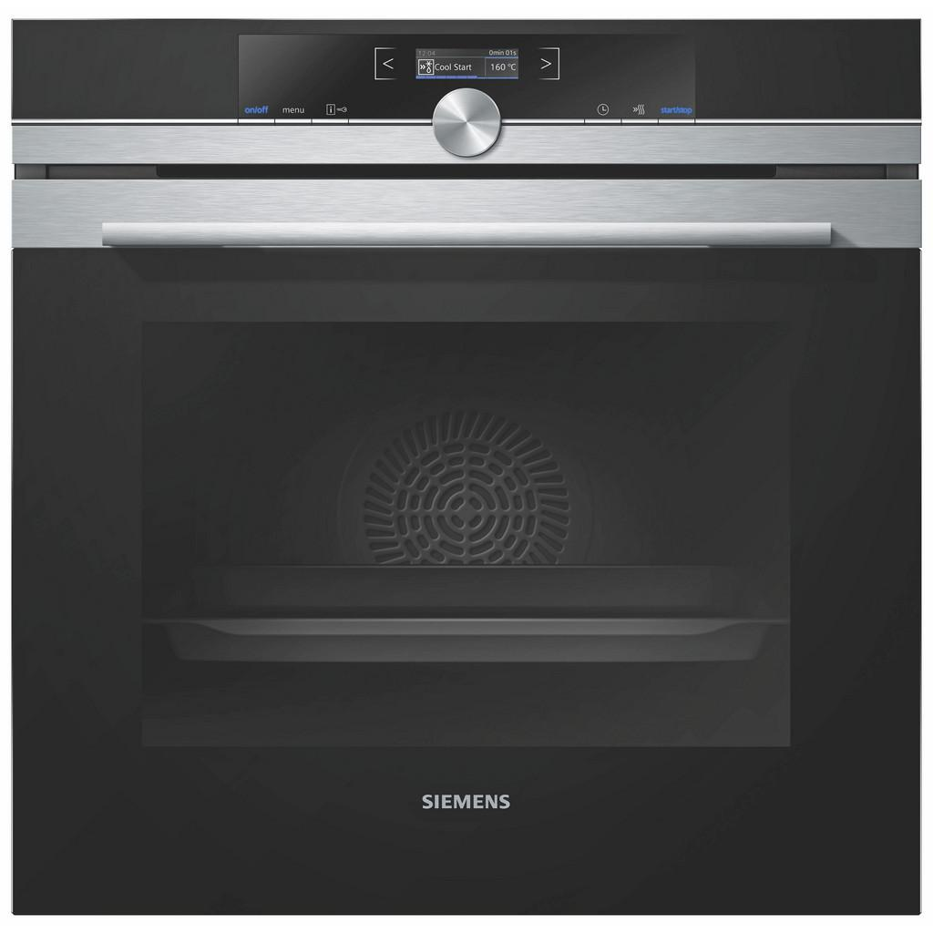 Einbaubackofen Siemens Hb634gbs1, EEZ A+ | Küche und Esszimmer > Küchenelektrogeräte > Herde und Backöffenen | Edelstahl | Siemens
