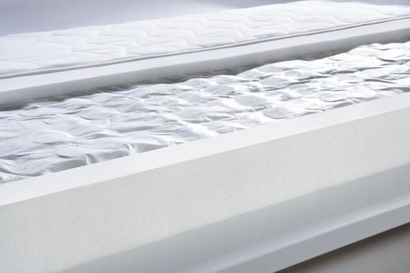 Ležišče Z Žepkastim Vzmetenjem Living Pur - Moderno, tekstil (90/200cm) - Nadana