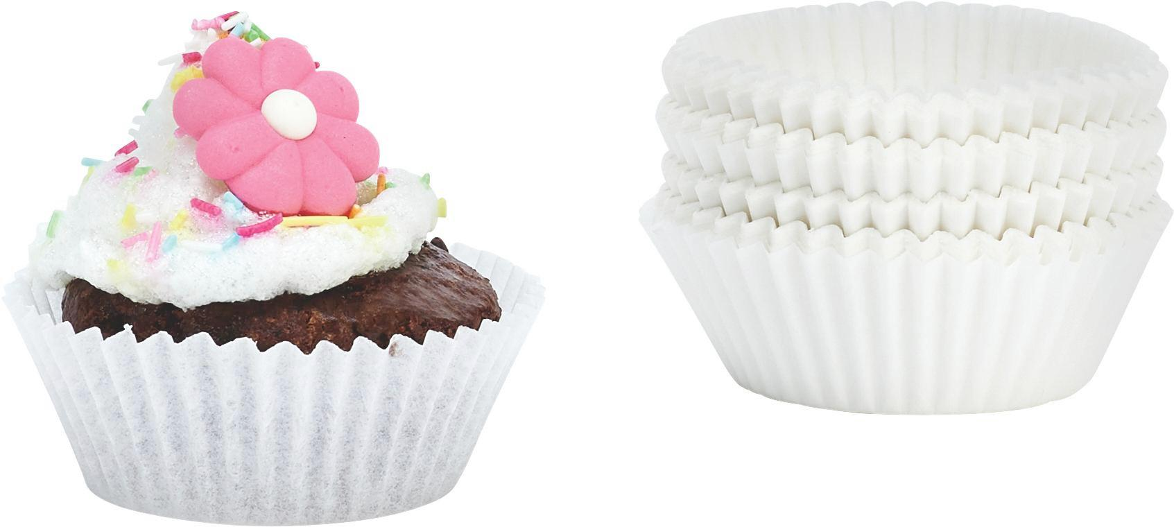 Muffin Forma Patisserie - fehér, papír (5cm) - MÖMAX modern living