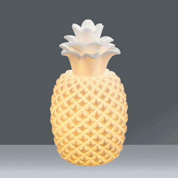 Namizna Svetilka Chaita - bela, keramika (17,3/31cm)