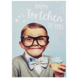 Postkarte Happy Törtchen - Multicolor, Papier (10,5/14,8cm)