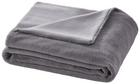 "Decke Elina ""doubleface"" ca.150x200cm in Grau - Grau, MODERN, Textil (150/200cm) - Mömax modern living"