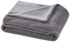 Decke Elina mit Wendeseite ca.150x200cm in Grau - Grau, MODERN, Textil (150/200cm) - Mömax modern living