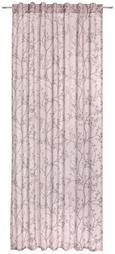 Schlaufenvorhang Judith in Rosa, ca. 140x245cm - Rosa, ROMANTIK / LANDHAUS, Textil (140/245cm) - Mömax modern living