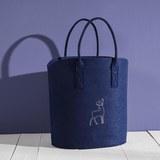 Tasche Luca ca.40x45cm - Blau, MODERN, Textil (40/25/45cm) - Mömax modern living