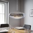 Pendelleuchte Nina - Chromfarben, MODERN, Metall (42/120cm) - Modern Living
