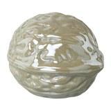 Dekofrucht Jimmi I Grau - Grau, Basics, Keramik (10,5/12,5/10,5cm)