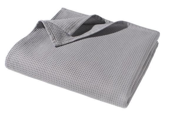 Tagesdecke Gerard Grau ca. 150x200cm - Grau, Textil (150/200cm) - Mömax modern living