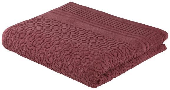 Duschtuch Carina Mauve - Lila, ROMANTIK / LANDHAUS, Textil (70/140cm) - Mömax modern living