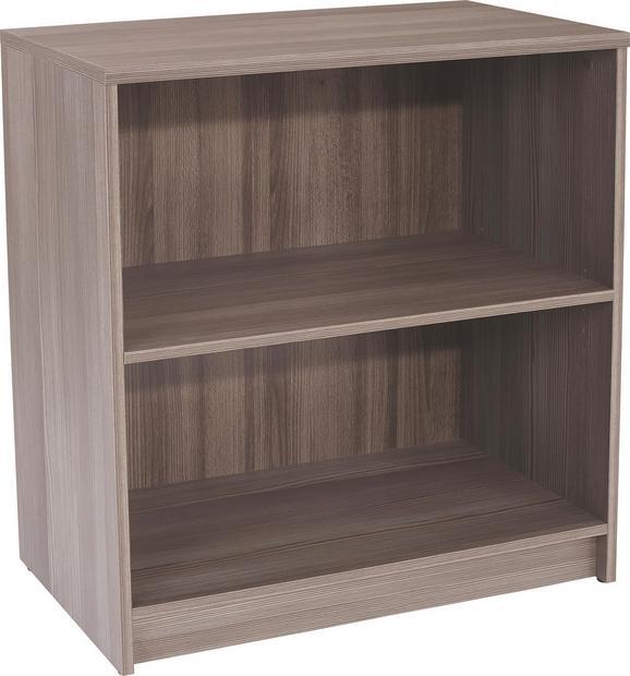 Regal 4-you Yur01 - temno rjava, leseni material (74/85,4/34,6cm) - Mömax modern living
