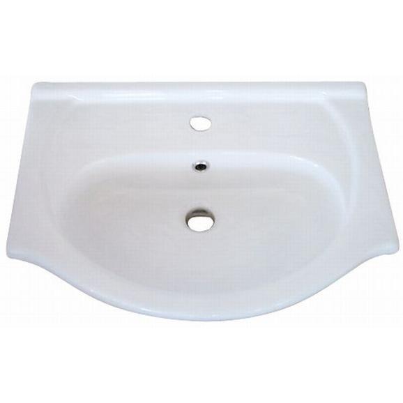 Lavoar Ceramic Hc6100 - alb, Konventionell, ceramică (55/22,5/42cm)