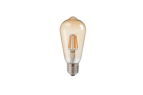 Deko-Leuchtmittel C80324mm max. 6 Watt - Goldfarben, Glas (6,4cm) - Mömax modern living