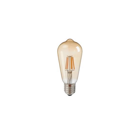 Deko Žarnica C80324mm - zlata, steklo (6,4cm) - Mömax modern living