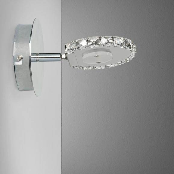 LED-Strahler Sphere - Klar, MODERN, Glas/Metall (15/15/11cm) - Mömax modern living