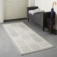 Flachwebeteppich Minnesota Grau, ca. 80x200cm - Grau, MODERN, Textil (080/200cm) - Modern Living