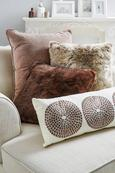 Okrasna Blazina Susan - sivo rjava, tekstil (60/60cm) - Mömax modern living