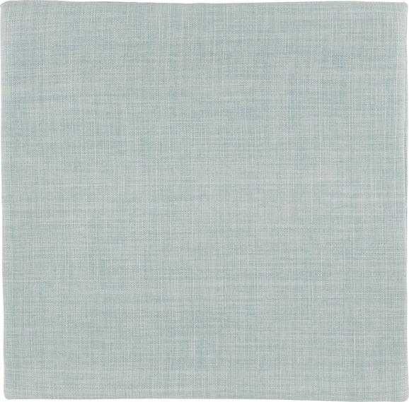 Párnahuzat Leinenoptik - Mentazöld, Textil (40/40cm) - Mömax modern living