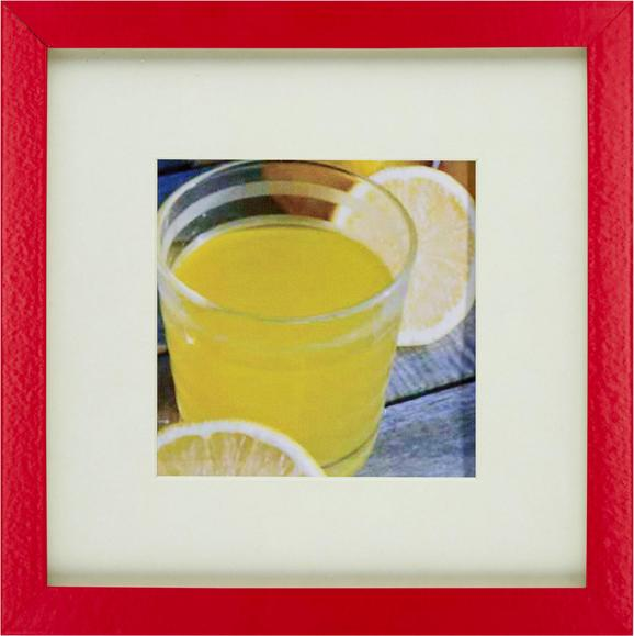 Bilderrahmen Gitta, ca. 23x23cm - Rot, Glas/Holzwerkstoff (23/23cm) - Mömax modern living