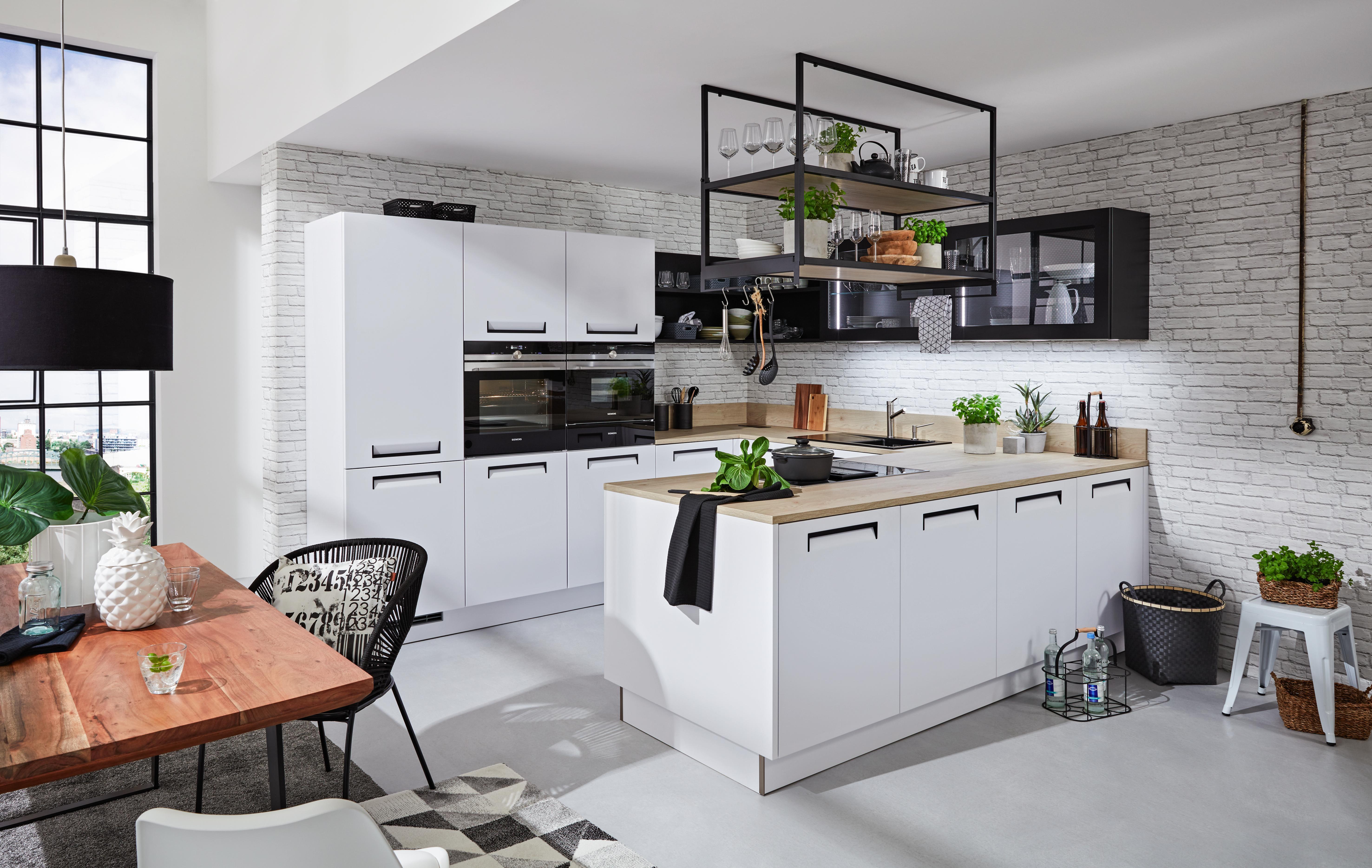 einbauk che nolte integra wei online kaufen m max. Black Bedroom Furniture Sets. Home Design Ideas