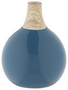 Dekorativna Vaza Dotty - modra, keramika (15,5/18,5cm) - Mömax modern living