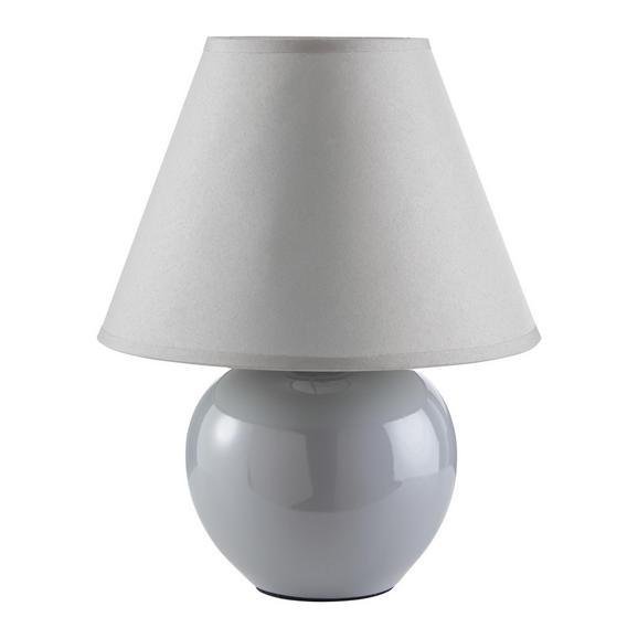 Namizna Svetilka Irma - Konvencionalno, steklo/tekstil (18/25cm) - Mömax modern living