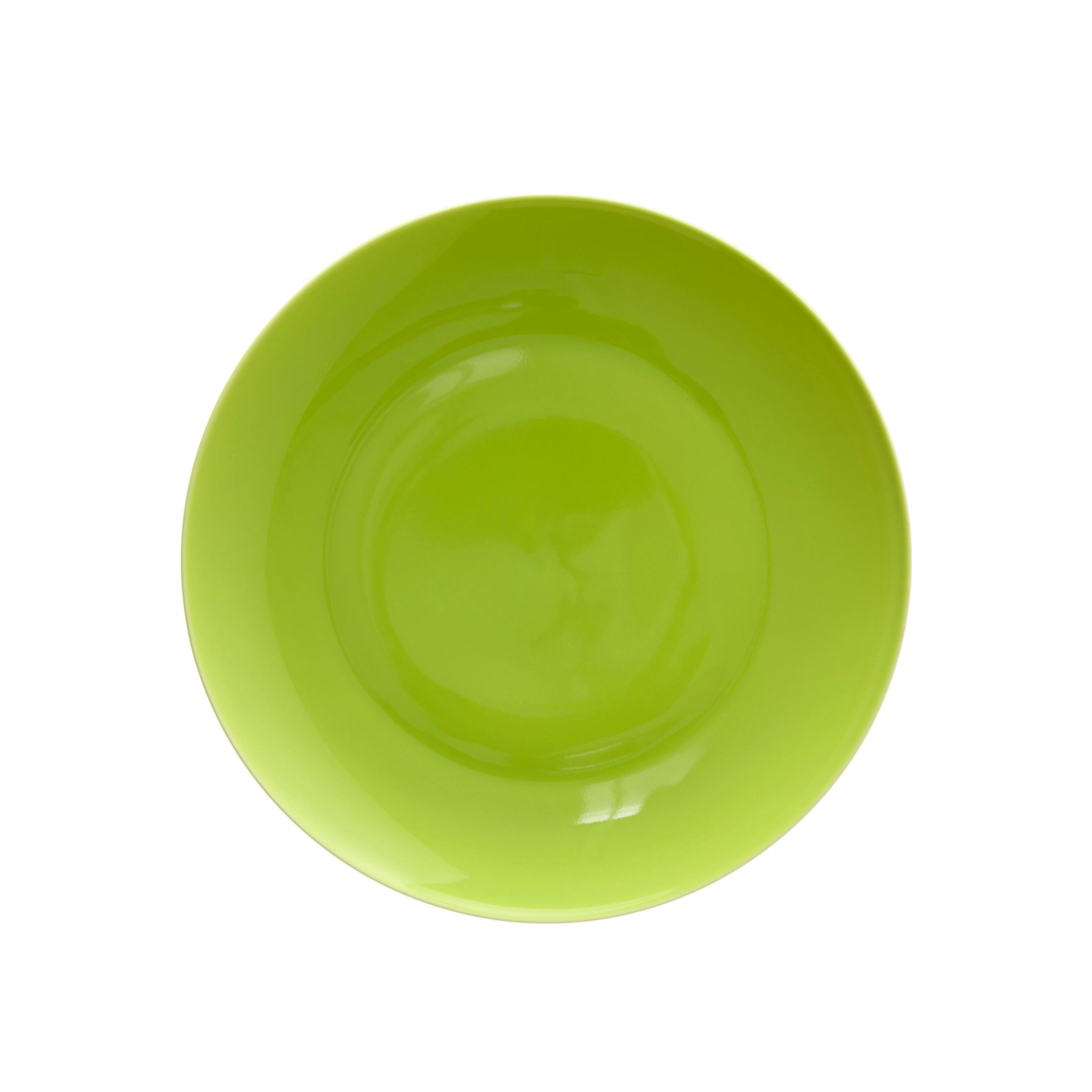 Desszertes Tányér Sandy - zöld, konvencionális, kerámia (20,4/1,8cm) - MÖMAX modern living