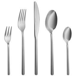 Besteckset Zara 60-teilig - Silberfarben, Basics, Metall - Premium Living
