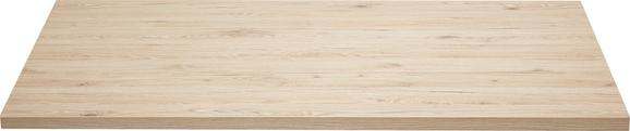 Íróasztallap Massiccio - tölgy színű, modern, fa (150/70-76/80cm) - BASED