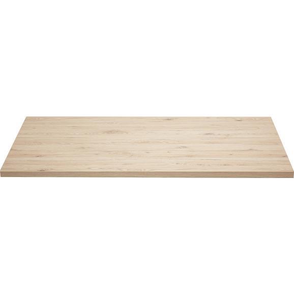Schreibtischplatte in San Remo Eiche - Eichefarben, MODERN, Holz (150/70-76/80cm) - Mömax modern living