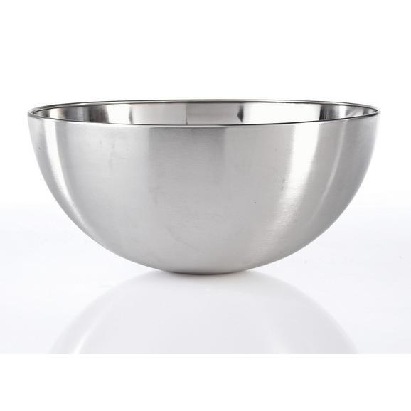 Skleda Vinzenz - nerjaveče jeklo, Moderno, kovina (24/11,5cm) - Mömax modern living
