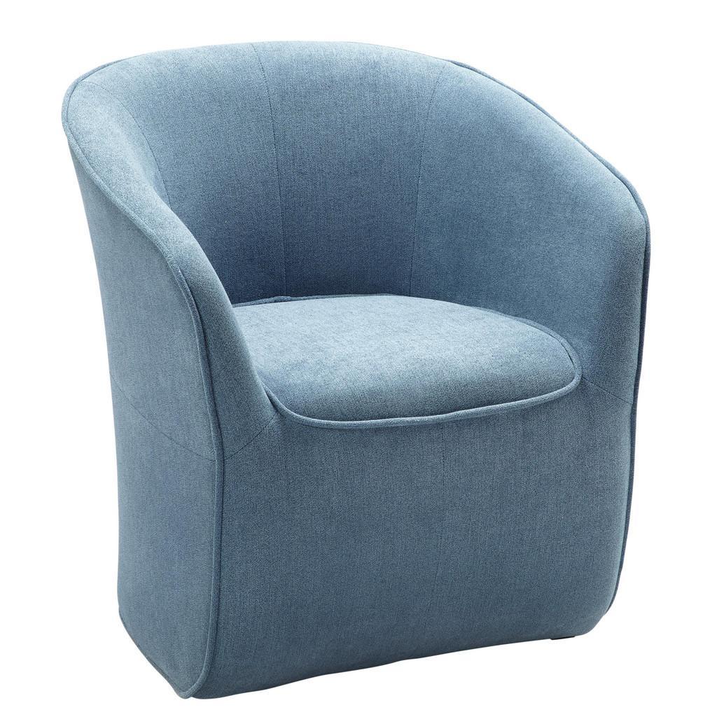 Sessel Blau/Grau