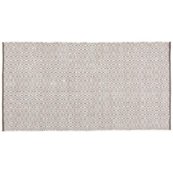 Ročno Tkana Preproga Carmen 1 - siva, tekstil (60/120cm) - Mömax modern living