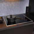 Küchenblock Moon, in schwarz matt - Schwarz, MODERN, Holzwerkstoff (310cm) - Express