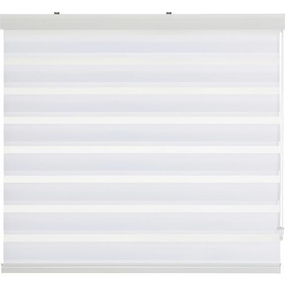 Klemmrollo Klemm Light, ca. 120x160cm - Weiß, MODERN, Textil/Metall (120/160cm) - Mömax modern living