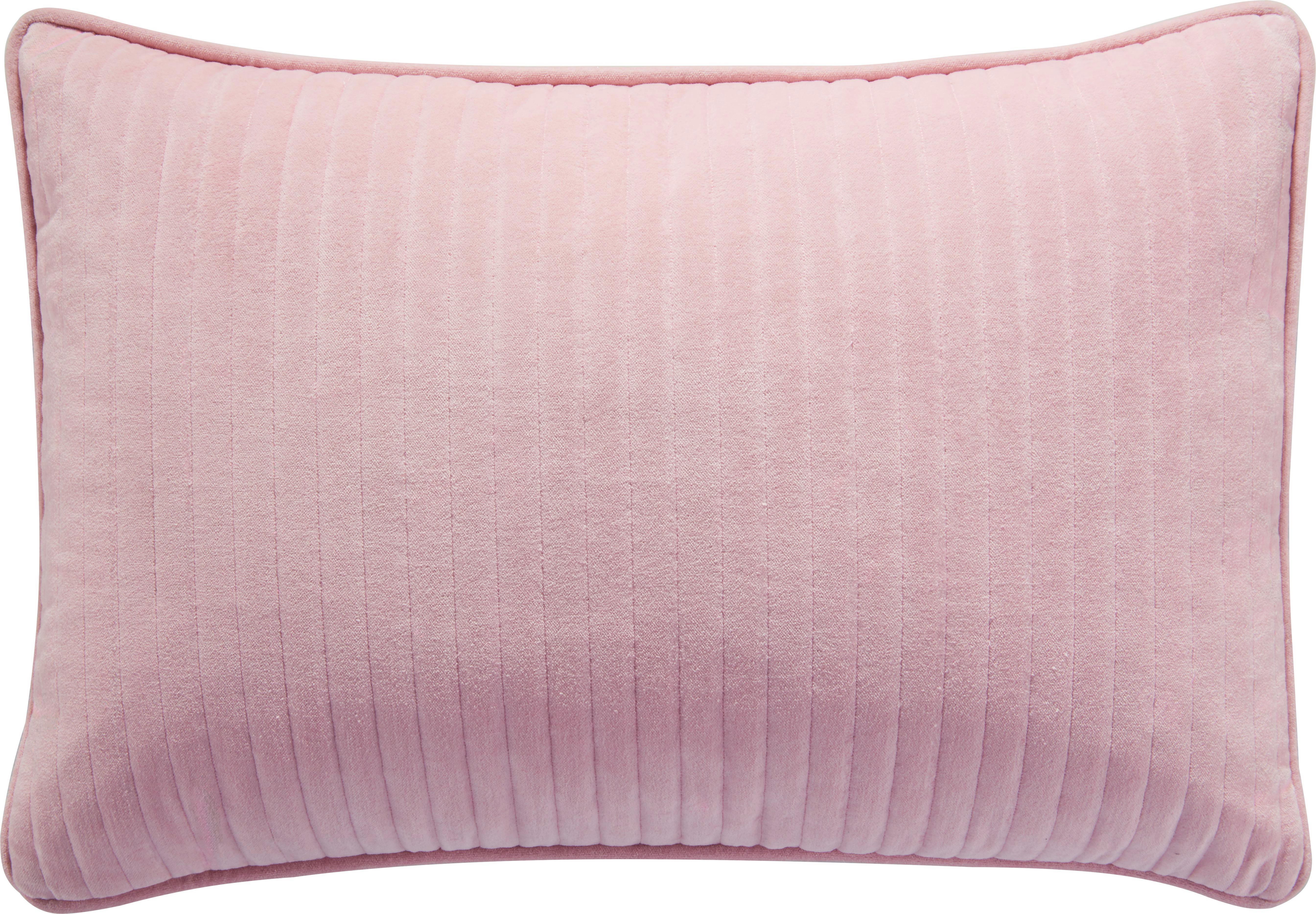 Zierkissen Elena in Rosa, ca. 40x60cm - Rosa, ROMANTIK / LANDHAUS, Textil (40/60cm) - MÖMAX modern living