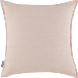 Zierkissen Solid Altrosa ca. 45x45cm - Altrosa, Textil (45/45cm)