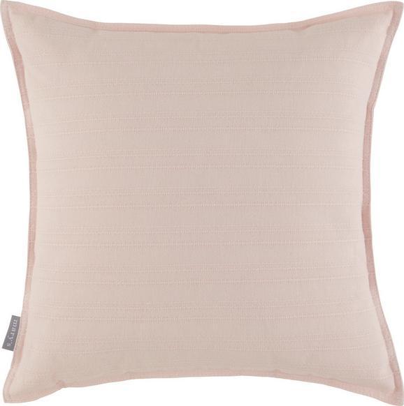 Zierkissen Solid in Altrosa, ca. 45x45cm - Altrosa, Textil (45/45cm)