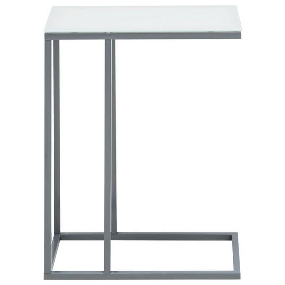 beistelltisch in wei dunkelgrau online kaufen m max. Black Bedroom Furniture Sets. Home Design Ideas