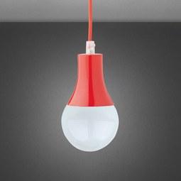 Hängeleuchte Padina - Rot, Kunststoff/Metall (9/92cm) - Mömax modern living