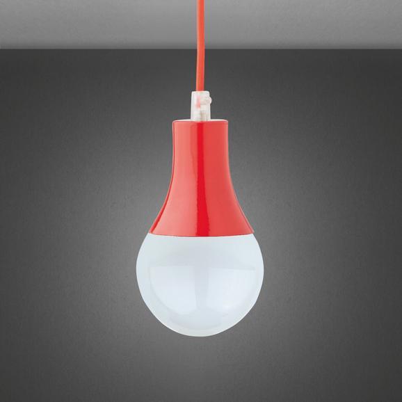 Pendelleuchte Padina - Rot, Kunststoff/Metall (9/92cm) - Mömax modern living